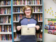 Devin Bradbury, 2nd Place Manningham Winner